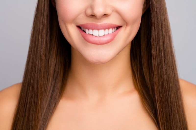 woman with veneers in Indianapolis